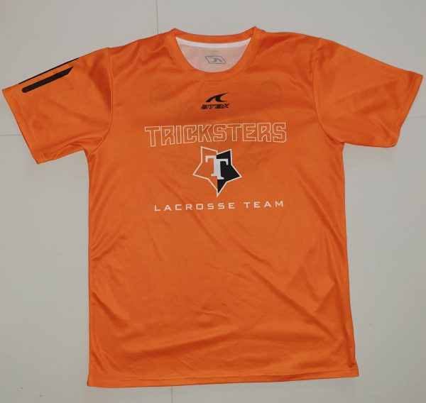 Tricksters lacrosse front side t-shirt