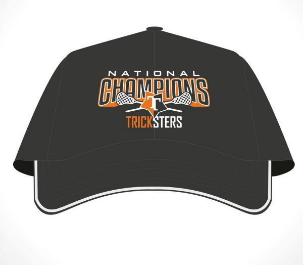 National Champions Tricksters lacrosse cap