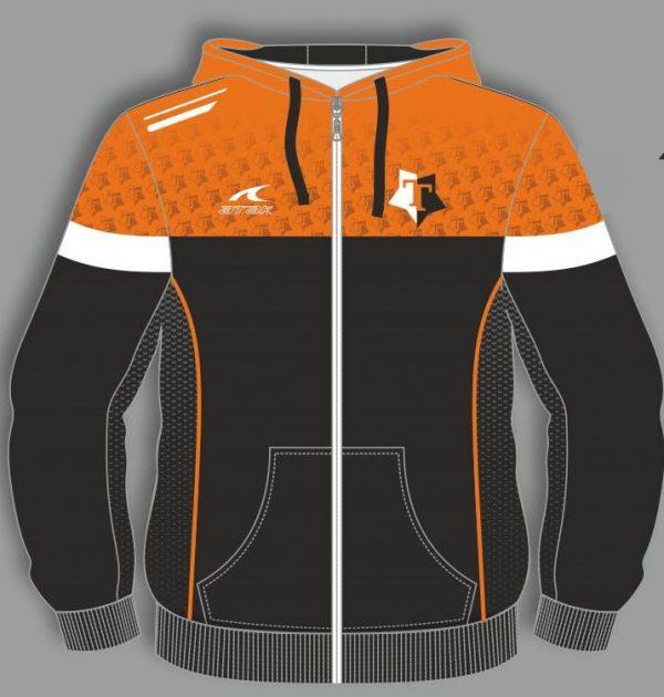 Tricksters lacrosse hoodie front side